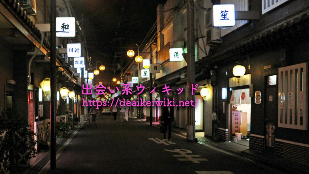 飛田新地内の道路